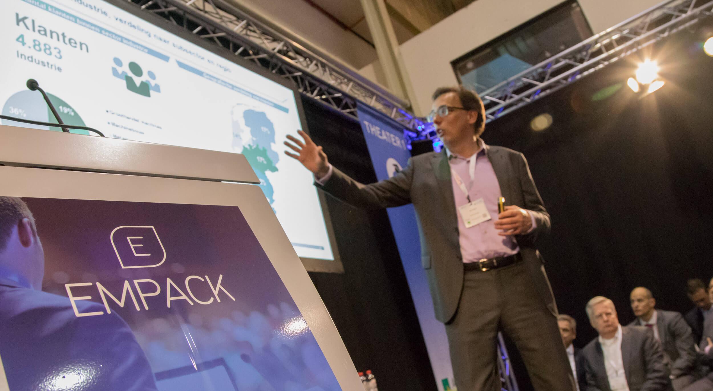 Presentatie op EMPACK