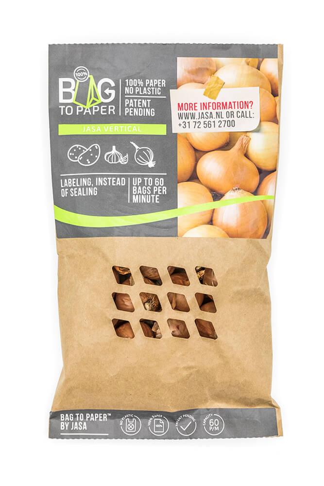 Bag-2-Paper™ verpakkingen